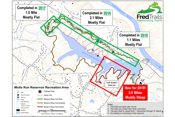 Fredericksburg Virginia Map.Fredericksburg Trails Alliance Mountain Bike And Outdoor Enthusiasts