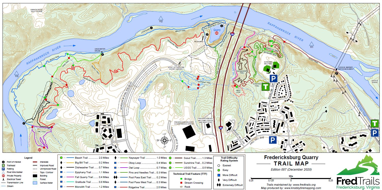 Fredericksburg Quarry Bike Trail